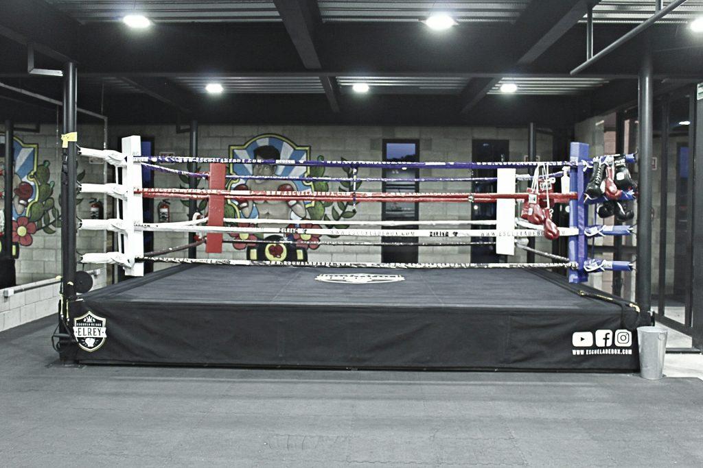 Ring de la escuela de box el rey